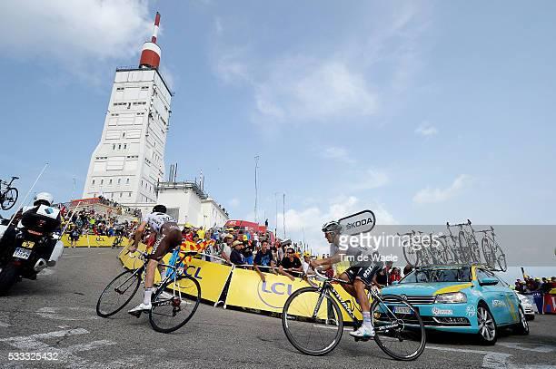 100th Tour de France 2013 / Stage 15 Michal Kwiatkowski White Jersey / Mont Ventoux / Landscape Paysage Landschap / Illustration Illustratie / Givors...