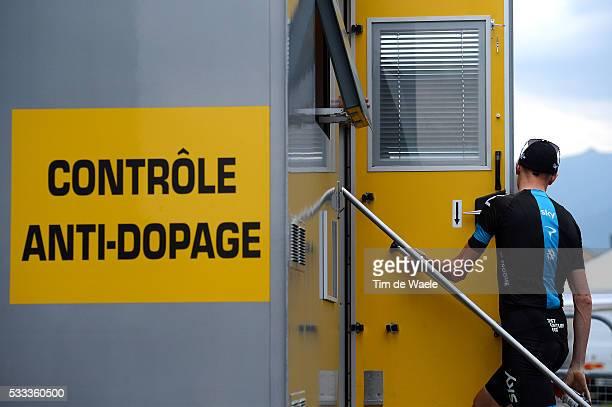 100th Tour de France 2013 / Stage 17 Christopher Froome / Controle Anti Dopage Doping / Embrun - Chorges / Time Trial Contre la Montre Tijdrit TT /...