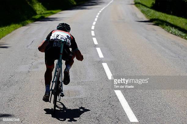 100th Tour de France 2013 / Stage 20 Jens Voigt / Illustration Illustratie Silhouet Descend Afdaling Decente / Annecy AnnecySemnoz / Ronde van...
