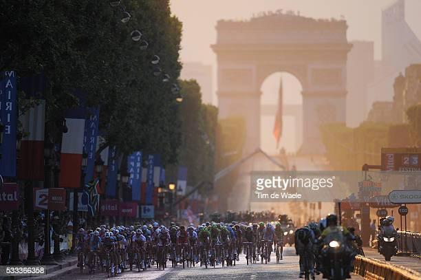 100th Tour de France 2013 / Stage 21 Illustration Illustratie / Peleton Peloton / Arc de Triomph / Landscape Paysage Landschap / Versailles - Paris...