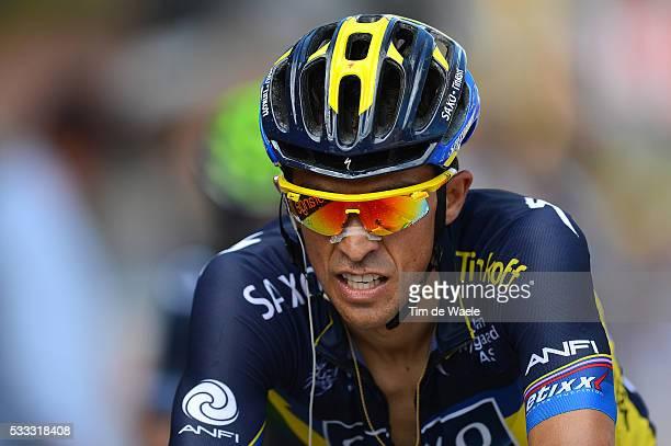 100th Tour de France 2013 / Stage 8 Arrival / Alberto Contador / Castres - Ax 3 Domaines / Ronde van Frankrijk TDF / Rite Etape Tim De Waele