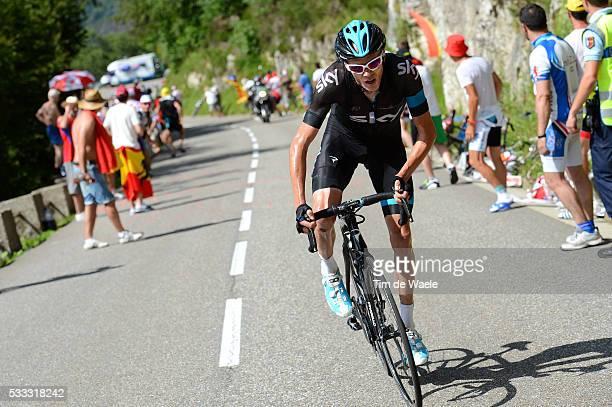 100th Tour de France 2013 / Stage 8 Christopher Froome / Castres Ax 3 Domaines / Ronde van Frankrijk TDF / Rite Etape Tim De Waele