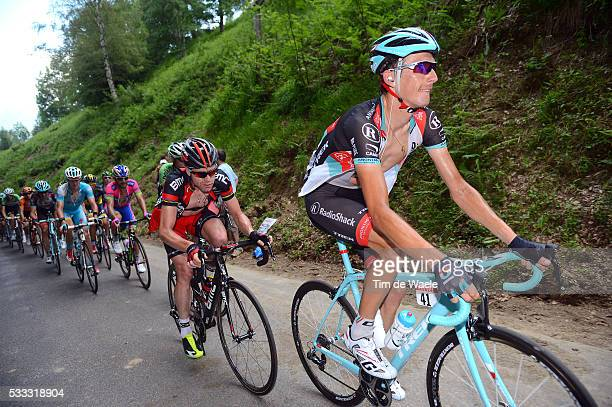100th Tour de France 2013 / Stage 9 Andy Schleck / Cadel Evans / Saint-Girons - Bagneres-De-Bigorre / Ronde van Frankrijk TDF / Rite Etape Tim De...