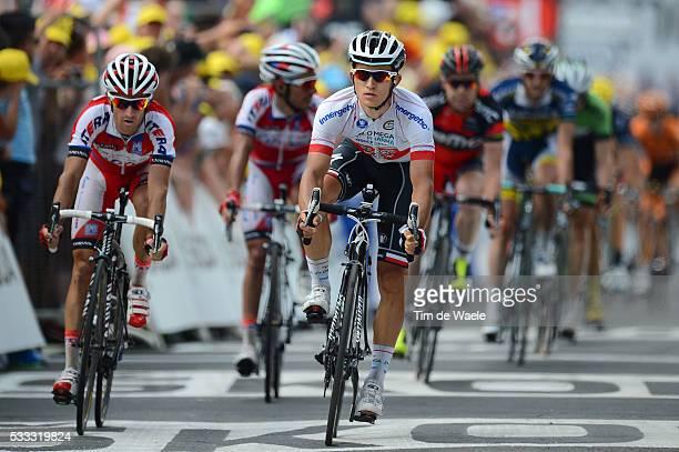 100th Tour de France 2013 / Stage 9 Arrival Sprint / Michal Kwiatkowski / Daniel Moreno Fernandez / Joaquim Rodriguez / Saint-Girons -...