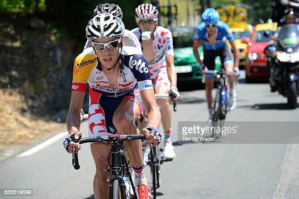 100th Tour de France 2013 / Stage 9 Bart De Clercq / Saint-Girons - Bagneres-De-Bigorre / Ronde van Frankrijk TDF / Rite Etape Tim De Waele