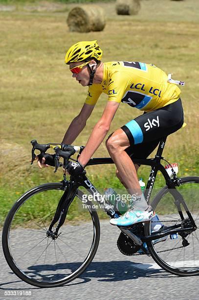 100th Tour de France 2013 / Stage 9 Christopher Froome Yellow Jersey / Saint-Girons - Bagneres-De-Bigorre / Ronde van Frankrijk TDF / Rite Etape Tim...