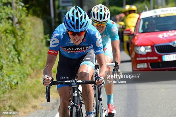 100th Tour de France 2013 / Stage 9 Daniel MARTIN / Jakob Fuglsang / Saint-Girons - Bagneres-De-Bigorre / Ronde van Frankrijk TDF / Rite Etape Tim De...