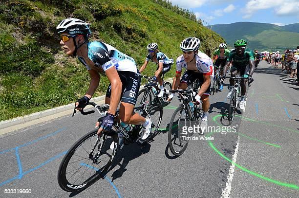 100th Tour de France 2013 / Stage 9 Matteo Trentin / Michal Kwiatkowski / Peter Velits / Saint-Girons - Bagneres-De-Bigorre / Ronde van Frankrijk TDF...