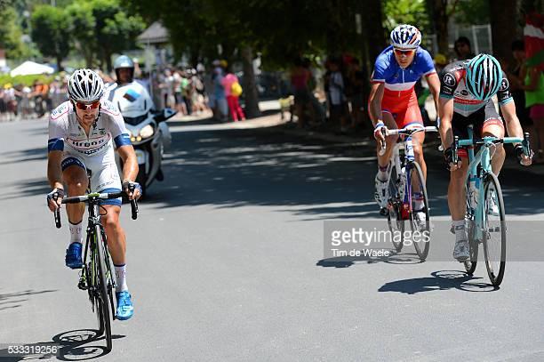 100th Tour de France 2013 / Stage 9 Simon Geschke / Jan Bakelants / Arthur Vichot / Saint-Girons - Bagneres-De-Bigorre / Ronde van Frankrijk TDF /...