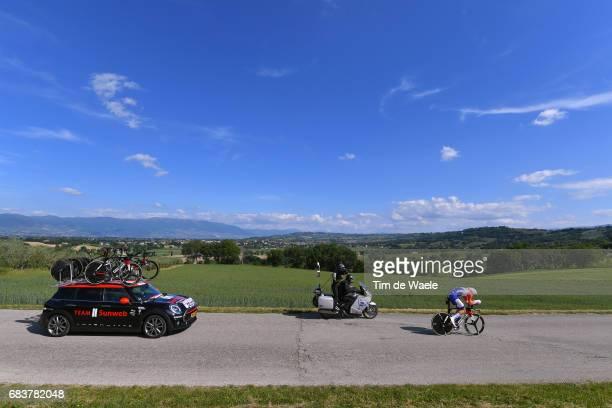 100th Tour of Italy 2017 / Stage 10 Tom DUMOULIN / Foligno Montefalco 451m / Giro / Individual Time Trial / ITT /
