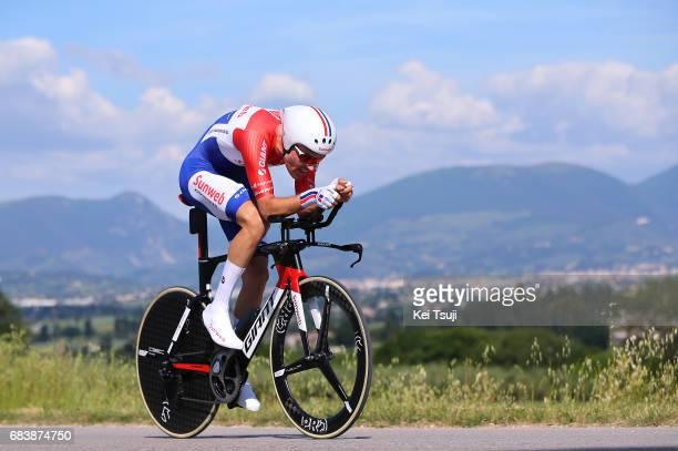 100th Tour of Italy 2017 / Stage 10 Tom DUMOULIN / Foligno - Montefalco 451m / Giro / Individual Time Trial / ITT /