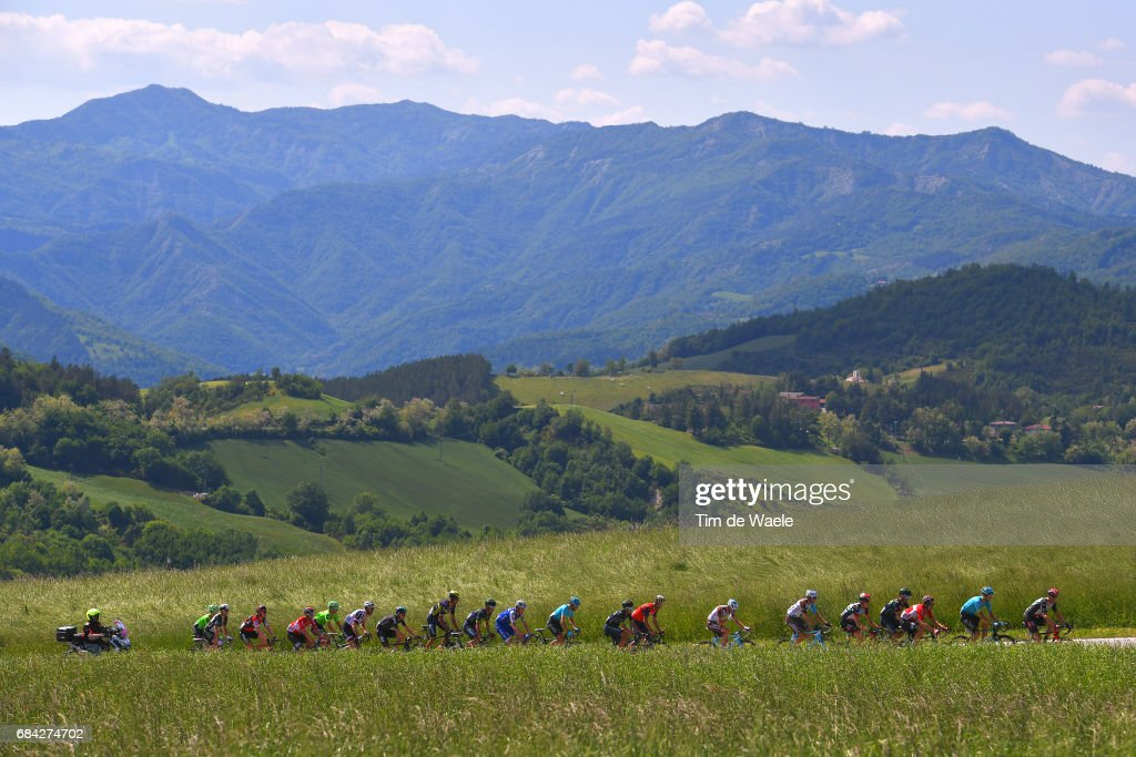 100th Tour of Italy 2017 / Stage 11 Landscape / Peloton / Mountains / Firenze (Ponte A Ema) - Bagno Di Romagna 490m (161km) / Giro /