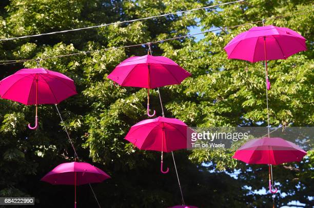 100th Tour of Italy 2017 / Stage 11 Pink Umbrella / Firenze Bagno Di Romagna 490m / Giro /