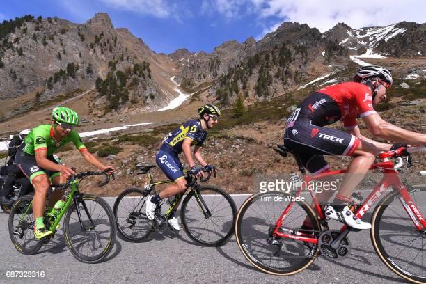100th Tour of Italy 2017 / Stage 16 Bauke MOLLEMA / Adam YATES / Davide FORMOLO / Umbrail Pass 1202m Switzerland / Giogo di SMaria / Mountains /...