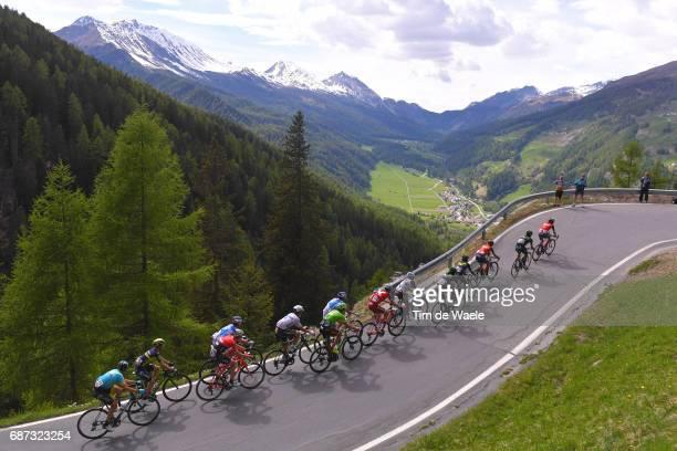 100th Tour of Italy 2017 / Stage 16 Landscape / Bob JUNGELS White Best Young Rider Jersey /Ilnur ZAKARIN / Domenico POZZOVIVO / Vincenzo NIBALI /...