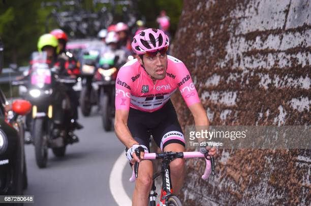 100th Tour of Italy 2017 / Stage 16 Tom DUMOULIN Pink Leader Jersey/ Rovetta Bormio / Giro /