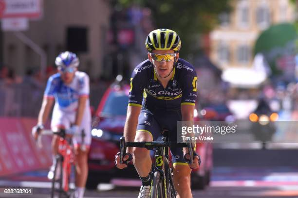 100th Tour of Italy 2017 / Stage 18 Arrival / Adam YATES / Moena Ortisei/St Ulrich 1219m / Giro /