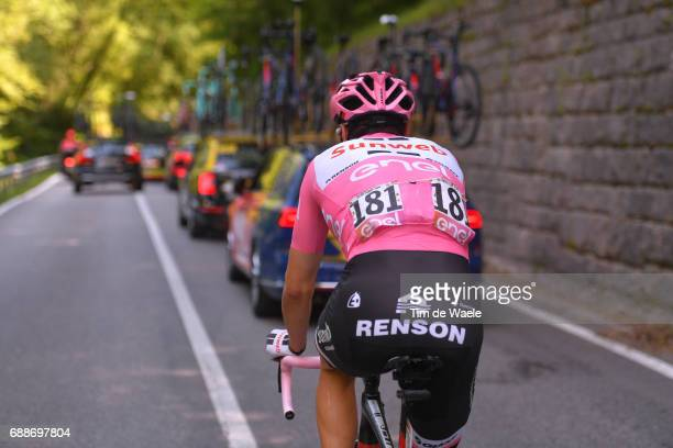 100th Tour of Italy 2017 / Stage 19 Tom DUMOULIN Pink Leader Jersey/ San Candido / Innichen Piancavallo 1290m / Giro /