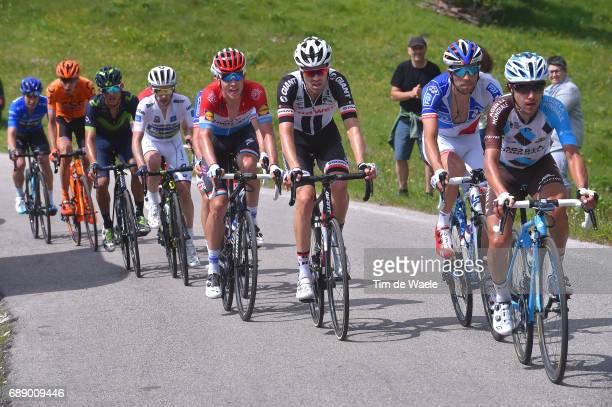 100th Tour of Italy 2017 / Stage 20 Domenico POZZOVIVO / Thibaut PINOT / Tom DUMOULIN / Bob JUNGELS / Adam YATES White Best Young Jersey/ Andrey...