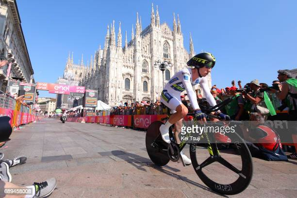 100th Tour of Italy 2017 / Stage 21 Arrival / Adam YATES White Best Young Jersey/ MonzaAutrodromo Nazionale MilanoDuomo / Individual Time Trial / ITT...