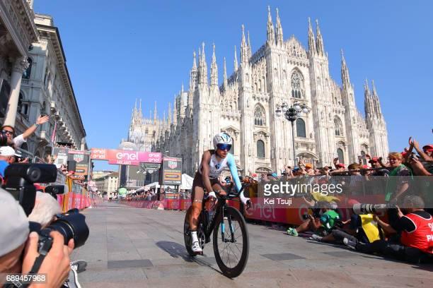 100th Tour of Italy 2017 / Stage 21 Arrival / Domenico POZZOVIVO / MonzaAutrodromo Nazionale MilanoDuomo / Individual Time Trial / ITT / Giro /