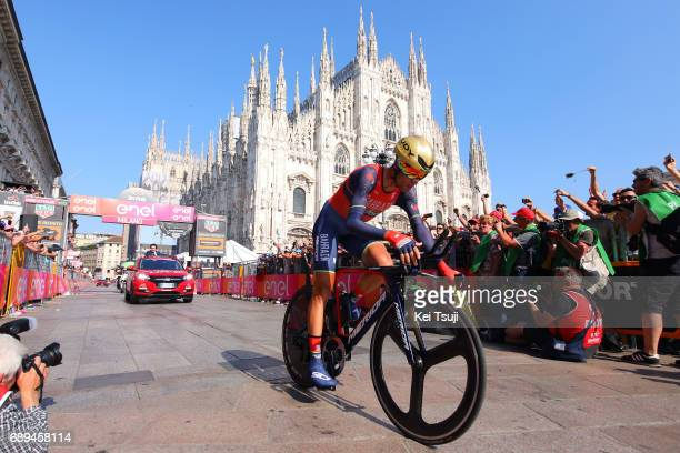 100th Tour of Italy 2017 / Stage 21 Arrival / Vincenzo NIBALI / MonzaAutrodromo Nazionale MilanoDuomo / Individual Time Trial / ITT / Giro /