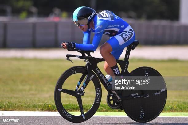 100th Tour of Italy 2017 / Stage 21 Mikel LANDA MEANA Blue Mountain Jersey/ MonzaAutrodromo Nazionale MilanoDuomo / Individual Time Trial / ITT /...