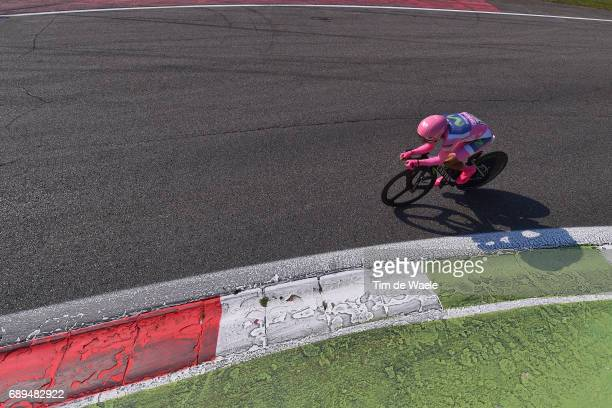 100th Tour of Italy 2017 / Stage 21 Nairo QUINTANA Pink Leader Jersey / MonzaAutrodromo Nazionale MilanoDuomo / Individual Time Trial / ITT / Giro /