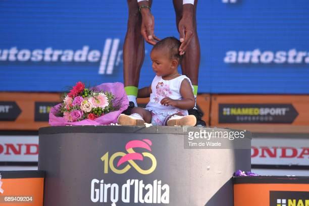 100th Tour of Italy 2017 / Stage 21 Podium / Daniel TEKLEHAIMANOT Intermediate Sprint Prize/ Celebration / Daughter / Children / MonzaAutrodromo...