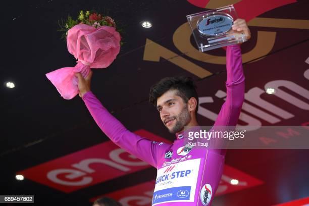 100th Tour of Italy 2017 / Stage 21 Podium / Fernando GAVIRIA Purple Points Jersey Celebration / MonzaAutrodromo Nazionale MilanoDuomo / Individual...