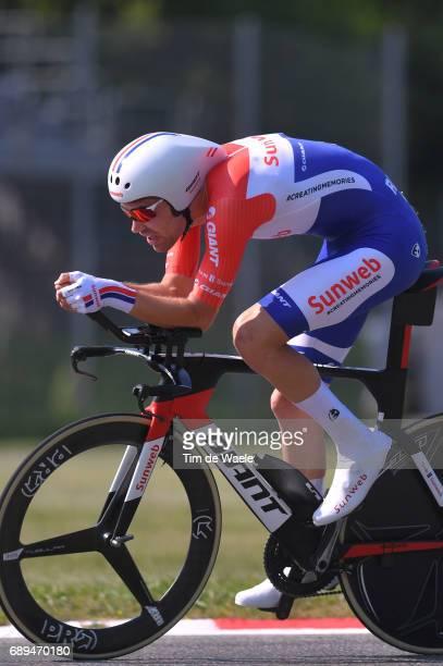 100th Tour of Italy 2017 / Stage 21 Tom DUMOULIN / MonzaAutrodromo Nazionale MilanoDuomo / Individual Time Trial / ITT / Giro /