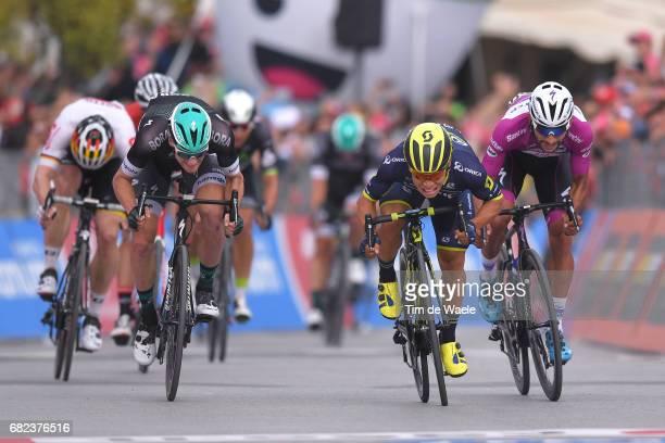 100th Tour of Italy 2017 / Stage 7 Arrival Sprint / Caleb EWAN / Fernando GAVIRIA Purple Points Jersey / Sam BENNETT / Castrovillari AlberobelloValle...