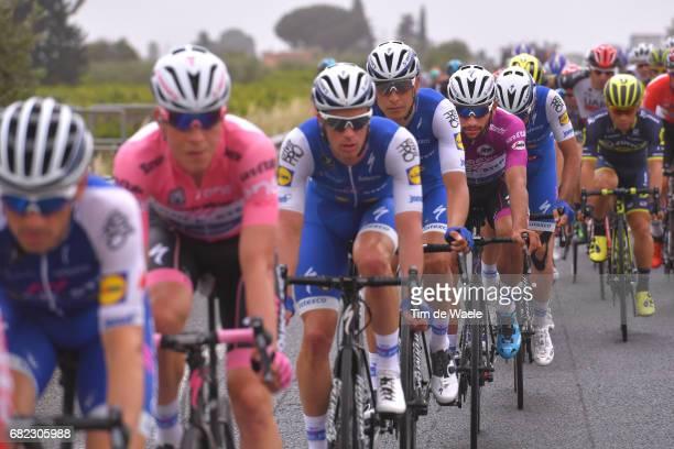 100th Tour of Italy 2017 / Stage 7 Bob JUNGELS Pink Leader Jersey / Davide MARTINELLI / Fernando GAVIRIA Purple Points Jersey/ Team QuickStep Floors...