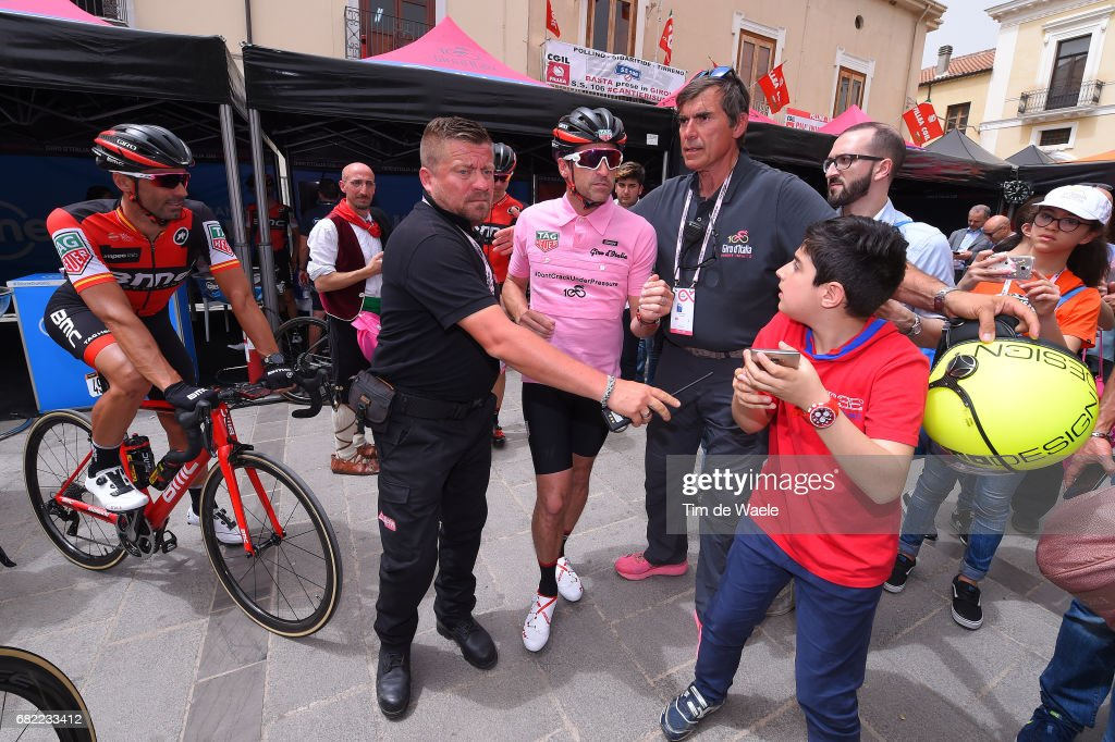 100th Tour Of Italy 2017 Stage 7 Start Patrick Dempsey Film And