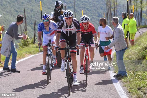 100th Tour of Italy 2017 / Stage 9 Tom DUMOULIN / Bauke MOLLEMA / Thibaut PINOT / Montenero Di Bisaccia Blockhaus 1665m / Giro /