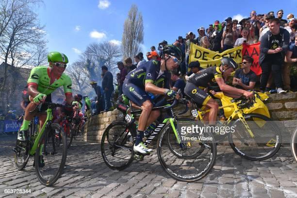 101st Tour of Flanders 2017 / Men Jorge / Adrien PETIT / KAPELMUUR / Wall of Geraardsbergen / De Muur / Antwerpen Oudenaarde / Men / Ronde Van...