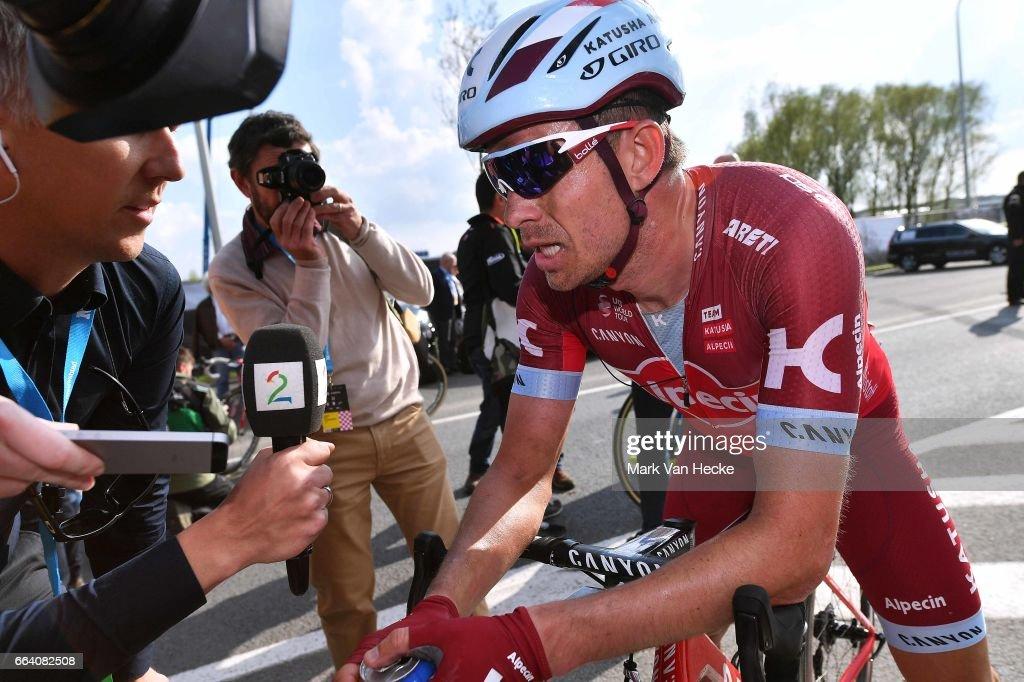 101st Tour of Flanders 2017 / Men Arrival / Alexander KRISTOFF (NOR)/ Interview / Press / Antwerpen - Oudenaarde (260Km)/ Ronde van Vlaanderen / RVV /