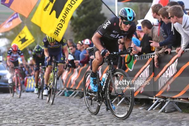101st Tour of Flanders 2017 / Men Gianni MOSCON / Patersberg/ Antwerpen Oudenaarde / Men / Ronde Van Vlaanderen / Tour of Flanders / RVV /