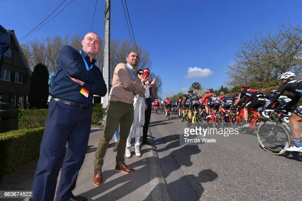 101st Tour of Flanders 2017 / Men Wouter VANDENHAUTE CEO Flanders Classics Woestijvis / Roberto MARTINEZ Coach Trainer Belgian Red Devils Team soccer...