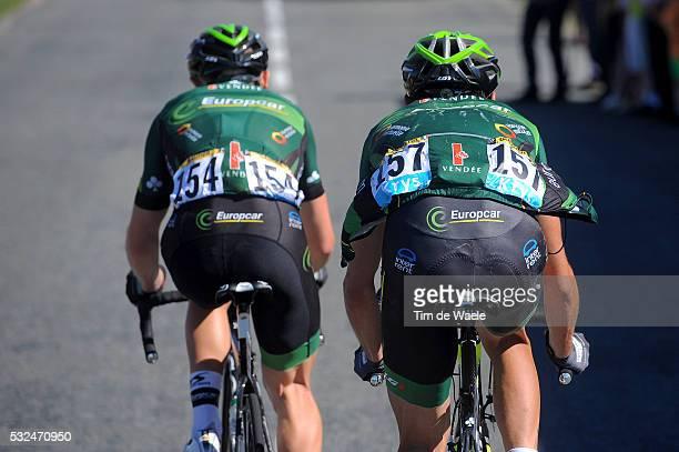 101th Tour de France / Stage 12 Illustration Illustratie / GAUTIER Cyril / QUEMENEUR Perrig / Team Europcar / Bourg-en-Bresse - Saint-Etienne / Ronde...
