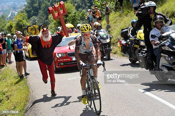 101th Tour de France / Stage 13 KADRI Blel / Didi SENF Devil Diable Duivel Didi SENF / SaintEtienne Chamrousse 1730m / Ronde van Frankrijk TDF Etape...