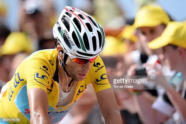 101th Tour de France / Stage 14 Arrival / NIBALI Vincenzo Yellow Jersey / Grenoble - Risoul 1885m / Ronde van Frankrijk TDF Etape Rit Tim De Waele