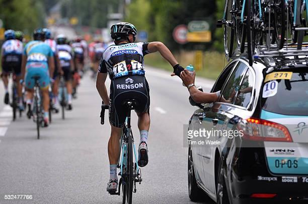 101th Tour de France / Stage 14 Illustration Illustratie / GOLAS Michal / Ravitaillement Bevoorrading / Grenoble - Risoul 1855m / Ronde van Frankrijk...