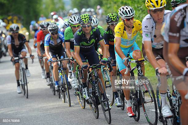 101th Tour de France / Stage 14 NIBALI Vincenzo Yellow Leader Jersey / VALVERDE Alejandro / Grenoble - Risoul 1855m / Ronde van Frankrijk TDF Etape...