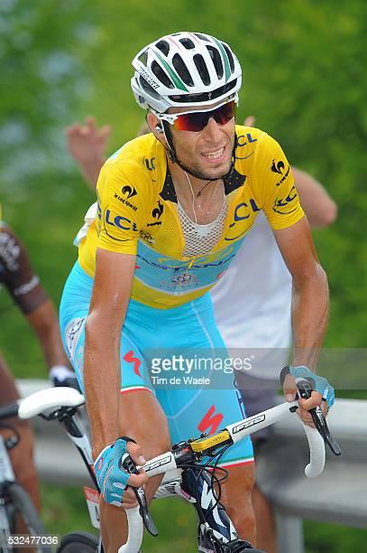 101th Tour de France / Stage 14 NIBALI Vincenzo Yellow Leader Jersey / Grenoble - Risoul 1855m / Ronde van Frankrijk TDF Etape Rit Tim De Waele