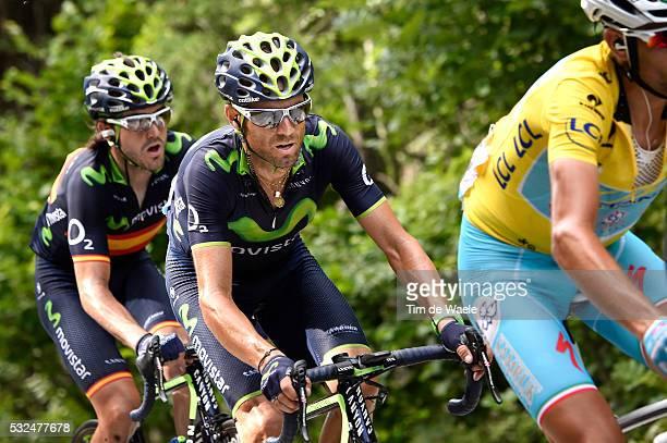 101th Tour de France / Stage 14 VALVERDE Alejandro / Grenoble - Risoul 1855m / Ronde van Frankrijk TDF Etape Rit pool ef Tim De Waele