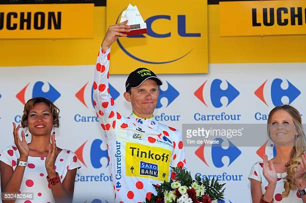 101th Tour de France / Stage 16 Podium / MAJKA Rafal Mountain Jersey / Celebration Joie Vreugde / Carcassonne - Bagneres-De-Luchon / Ronde van...