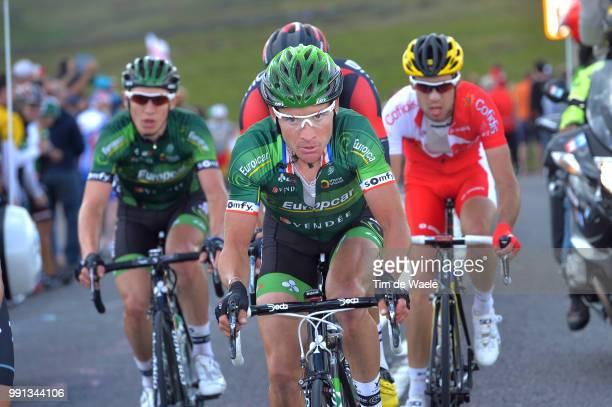 101Th Tour De France Stage 2 Voeckler Thomas / York Sheffield / Ronde Van Frankrijk Tdf Etape Rit Tim De Waele