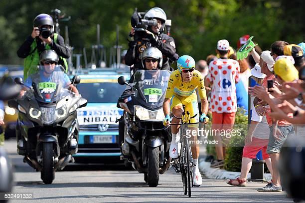 101th Tour de France / Stage 20 NIBALI Vincenzo Yellow Leader Jersey / Bergerac - Perigueux / Ronde van Frankrijk TDF Time Trial Contre la Montre...