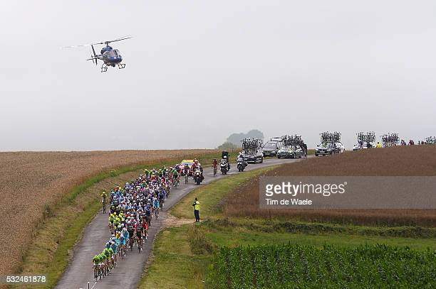 101th Tour de France / Stage 7 Illustration Illustratie / Peleton Peloton / Helicopter TV / Landscape Paysage Landschap / Epernay - Nancy / Ronde van...
